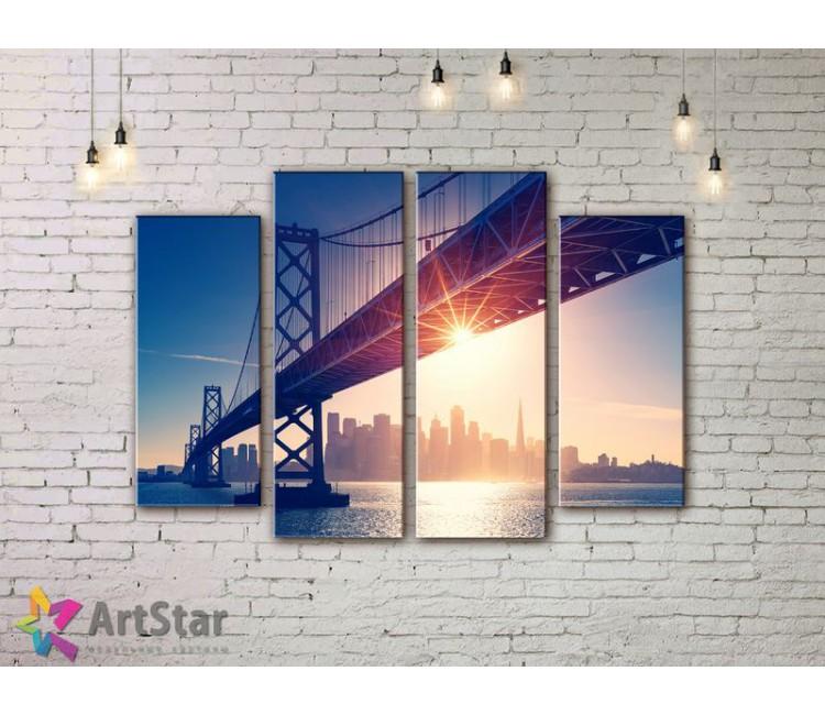 Модульные Картины, Город, Art. SYY778174