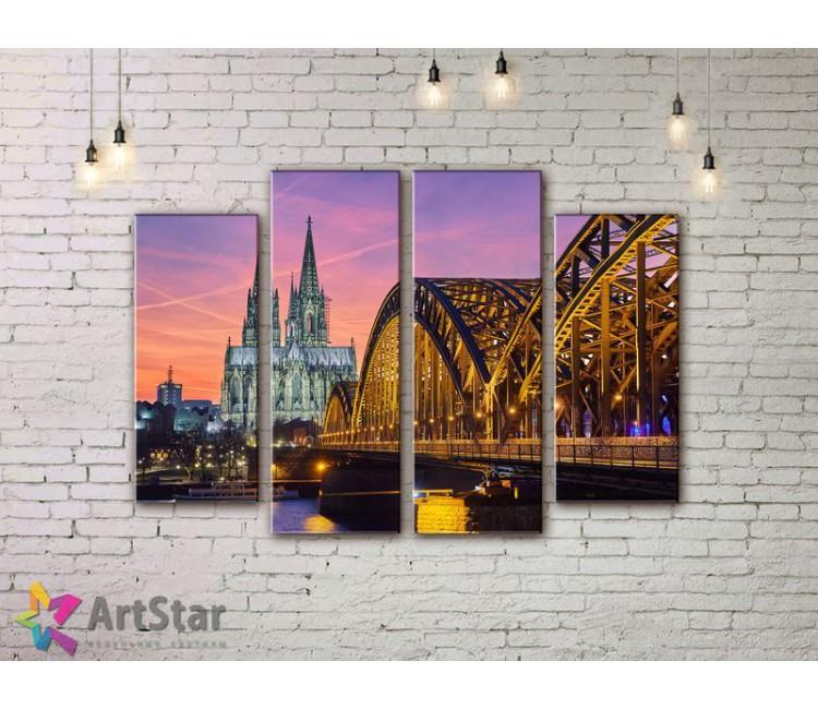 Модульные Картины, Город, Art. SYY778202