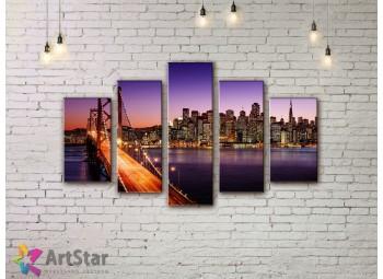 Модульные Картины, Город, Art. SYY778250