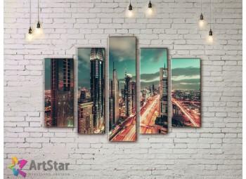 Модульные Картины, Город, Art. SYY778272