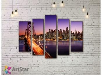 Модульные Картины, Город, Art. SYY778288