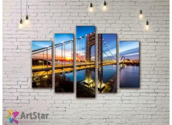 Модульные Картины, Город, Art. SYY778298