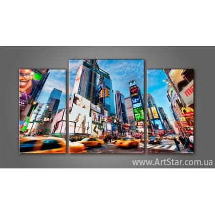 Модульная картина Панорама New York