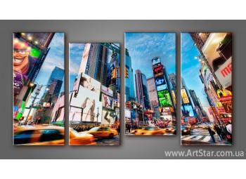 Модульная картина Панорама New York (4)