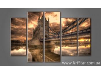 Модульная картина Панорама Лондона (5) 3
