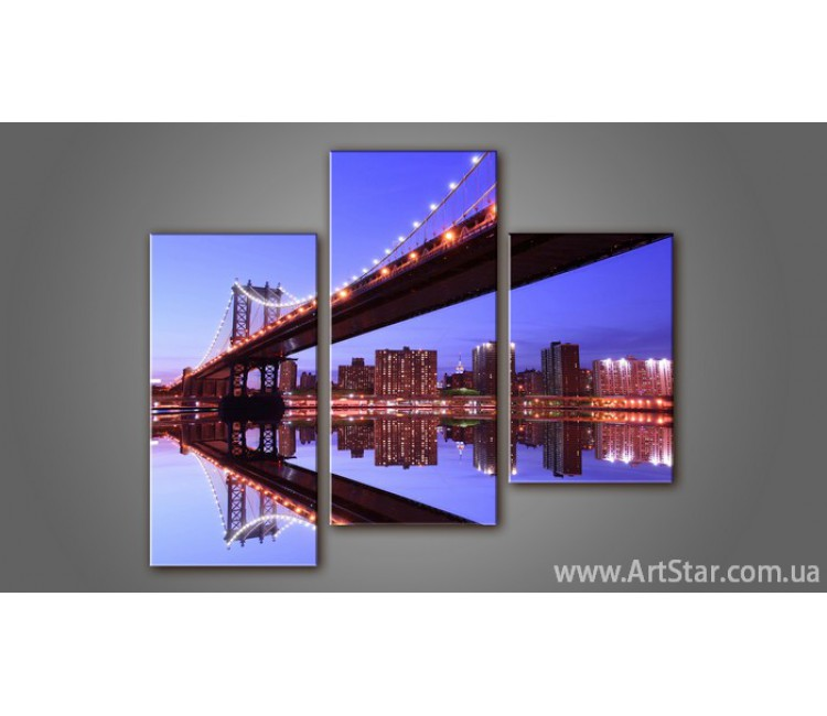 Модульная картина Бруклинский мост 2
