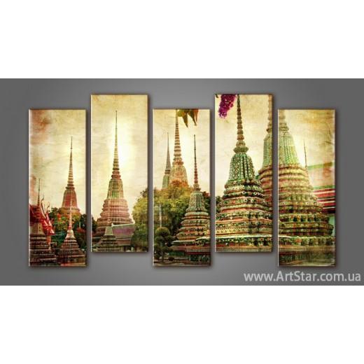 Модульная картина Таиланд (5)