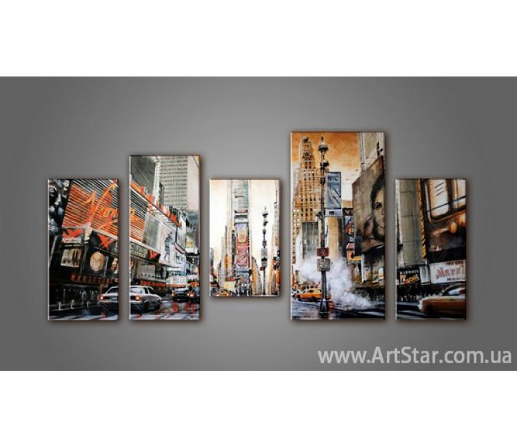 Модульная картина New York (5) 2
