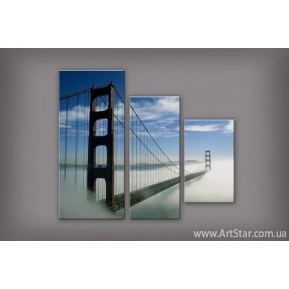 Модульная картина Бруклинский мост 4