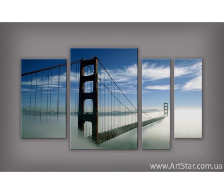 Модульная картина Бруклинский мост (4) 4
