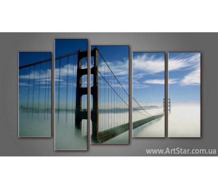Модульная картина Бруклинский мост (5) 4