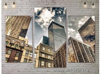 Модульные Картины, Город, Art. SITY787017