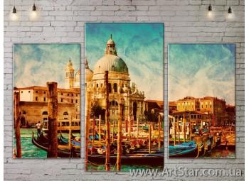 Модульные Картины, Город, Art. SITY787077