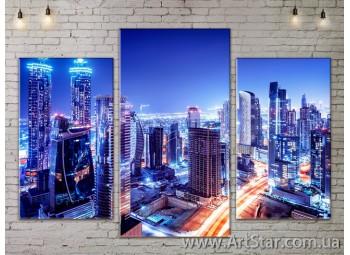 Модульные Картины, Город, Art. SITY787081