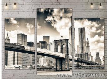 Модульные Картины, Город, Art. SITY787085