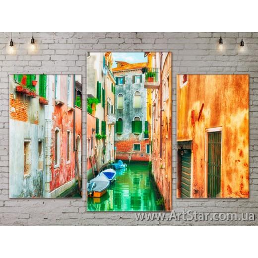 Модульные Картины, Город, Art. SITY787089