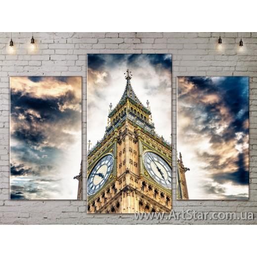 Модульные Картины, Город, Art. SITY787093