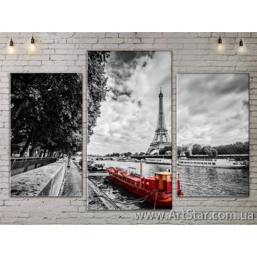 Модульные Картины, Город, Art. SITY787121