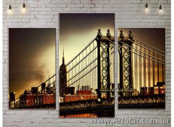 Модульные Картины, Город, Art. SITY787123