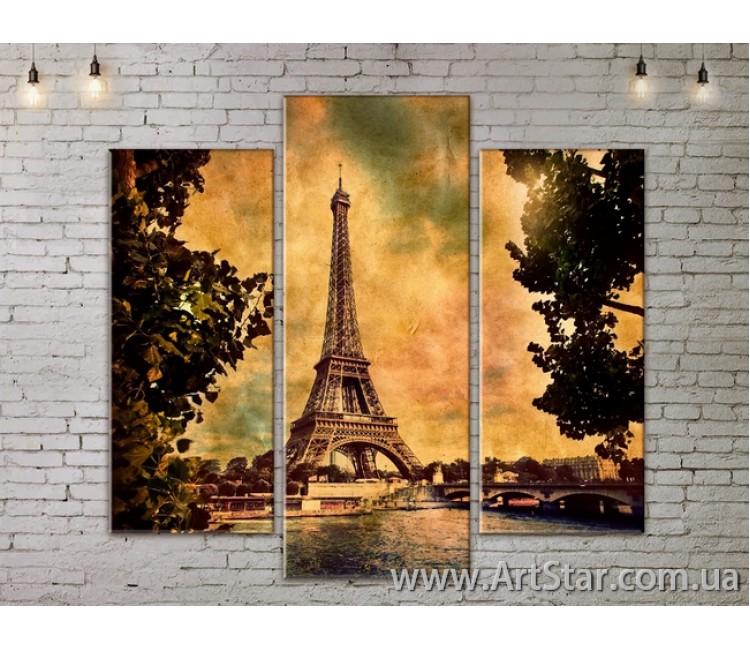 Модульные Картины, Город, Art. SITY787155