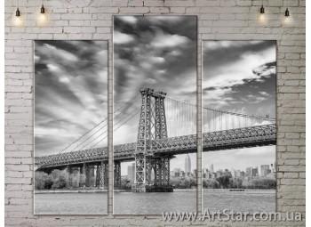 Модульные Картины, Город, Art. SITY787161