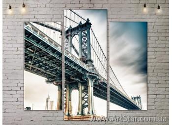Модульные Картины, Город, Art. SITY787165