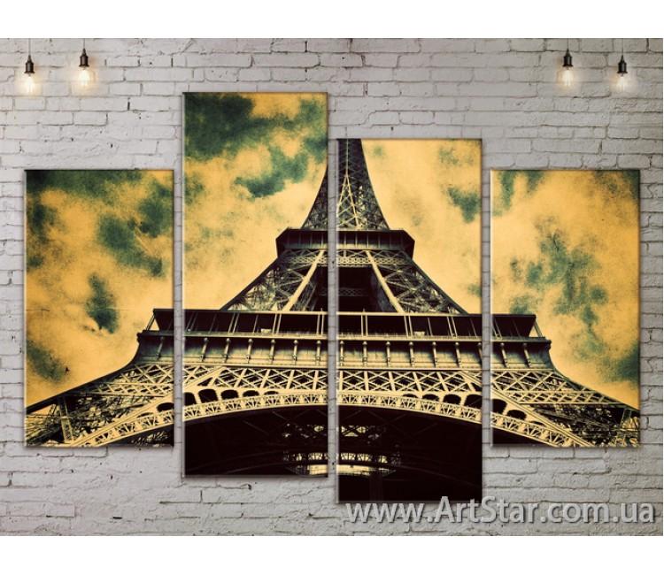 Модульные Картины, Город, Art. SITY787195
