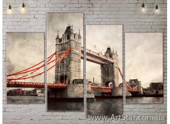 Модульные Картины, Город, Art. SITY787223
