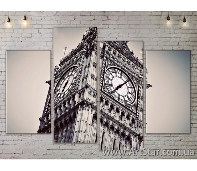 Модульные Картины, Город, Art. SITY787229