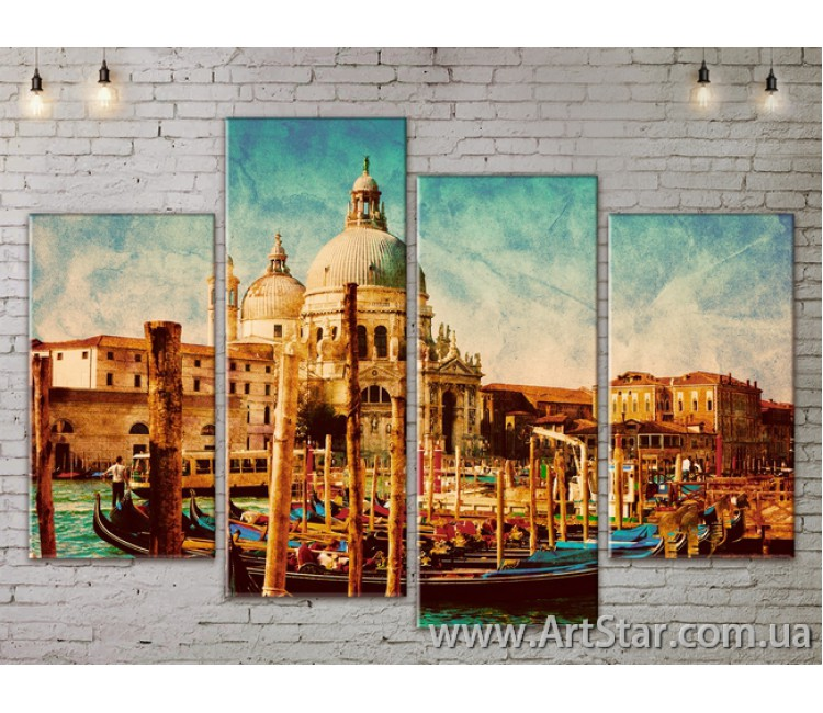 Модульные Картины, Город, Art. SITY787253