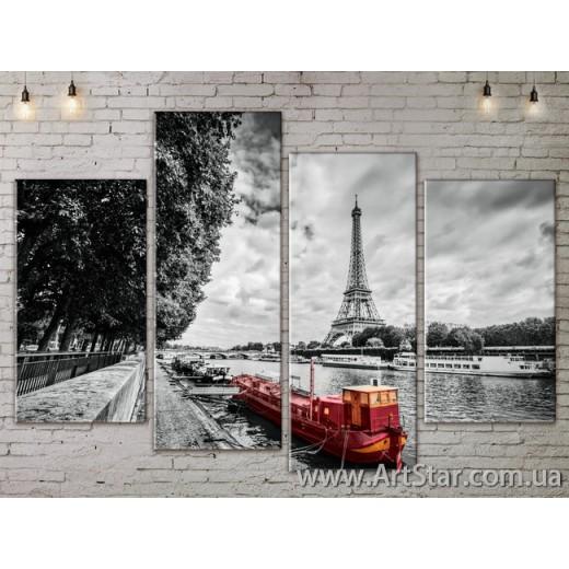 Модульные Картины, Город, Art. SITY787297