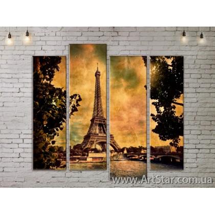 Модульные Картины, Город, Art. SITY787331