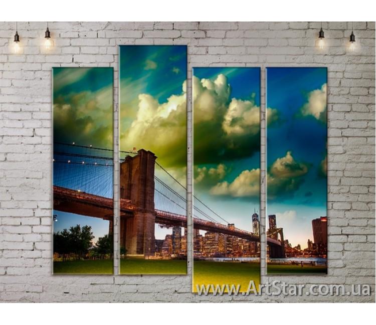 Модульные Картины, Город, Art. SITY787333