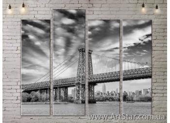 Модульные Картины, Город, Art. SITY787337