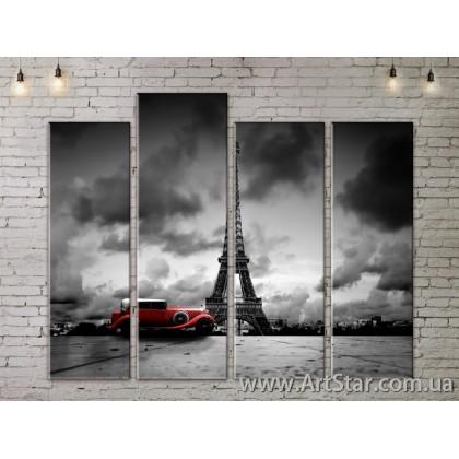 Модульные Картины, Город, Art. SITY787341
