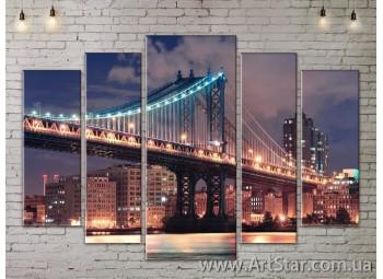 Модульные Картины, Город, Art. SITY787354