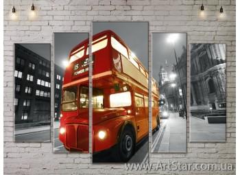 Модульные Картины, Город, Art. SITY787384