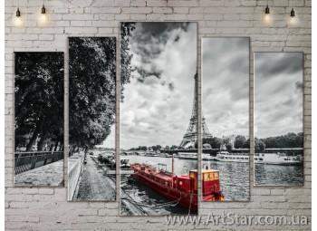Модульные Картины, Город, Art. SITY787468