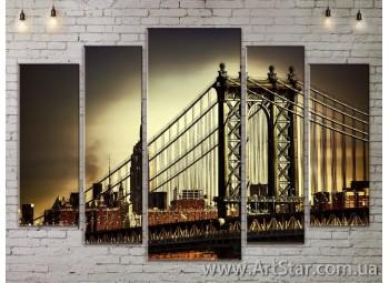 Модульные Картины, Город, Art. SITY787470