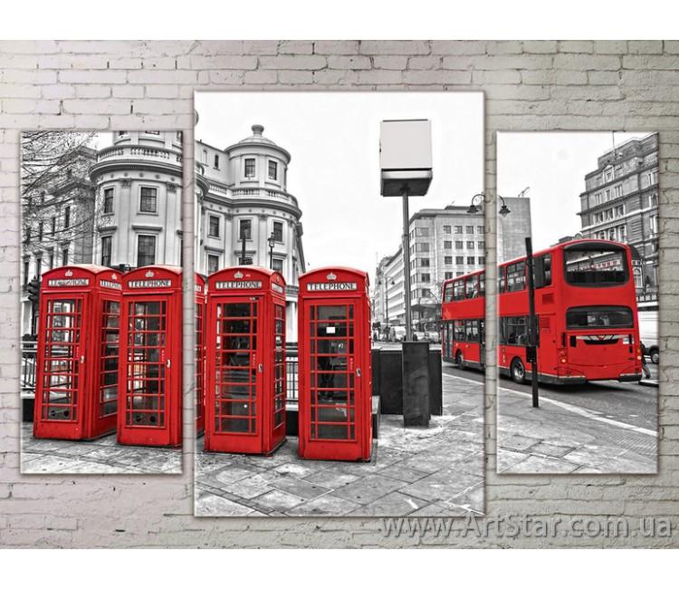 Модульные Картины Города, Art. STRM778013