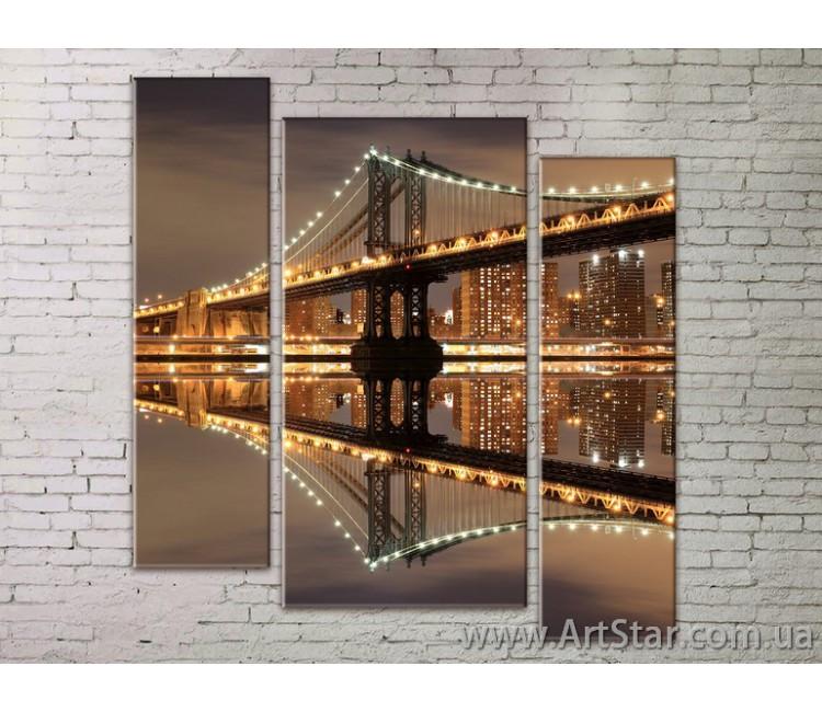 Модульные Картины Города, Art. STRM778019