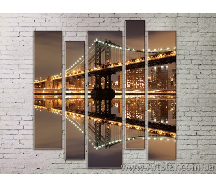 Картина Модульная Город, Art. STRM778023