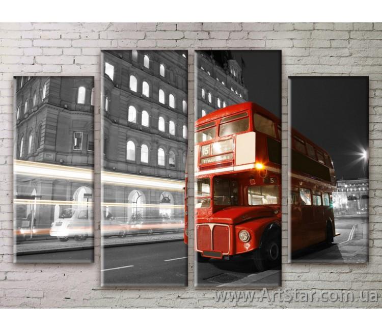 Картина Модульная Город, Art. STRM778025