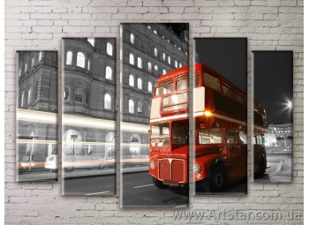 Картина Модульная Город, Art. STRM778027