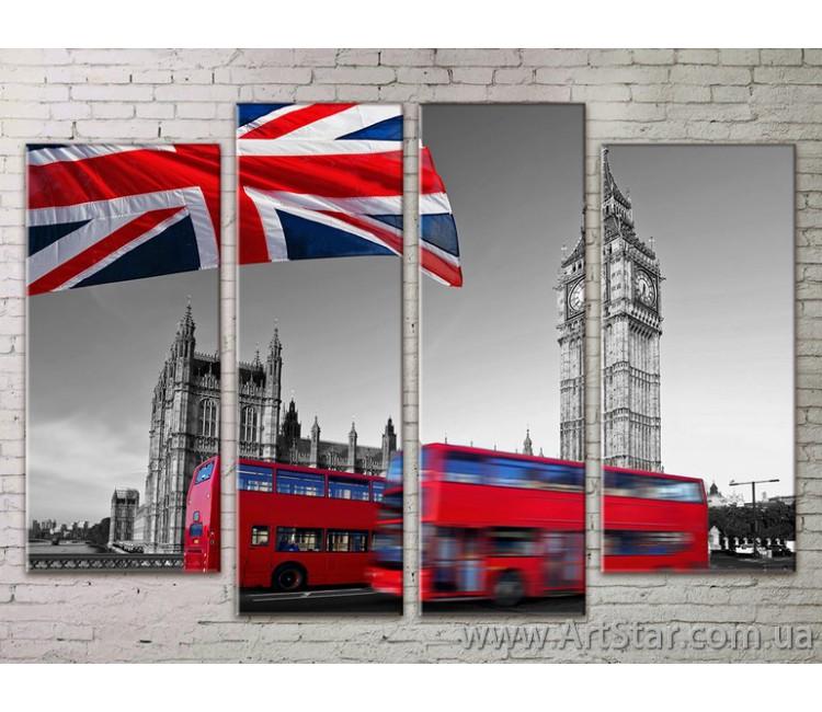 Картина Модульная Город, Art. STRM778029