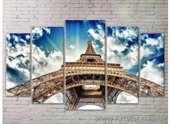 Картина Модульная Город, Art. STRM778049
