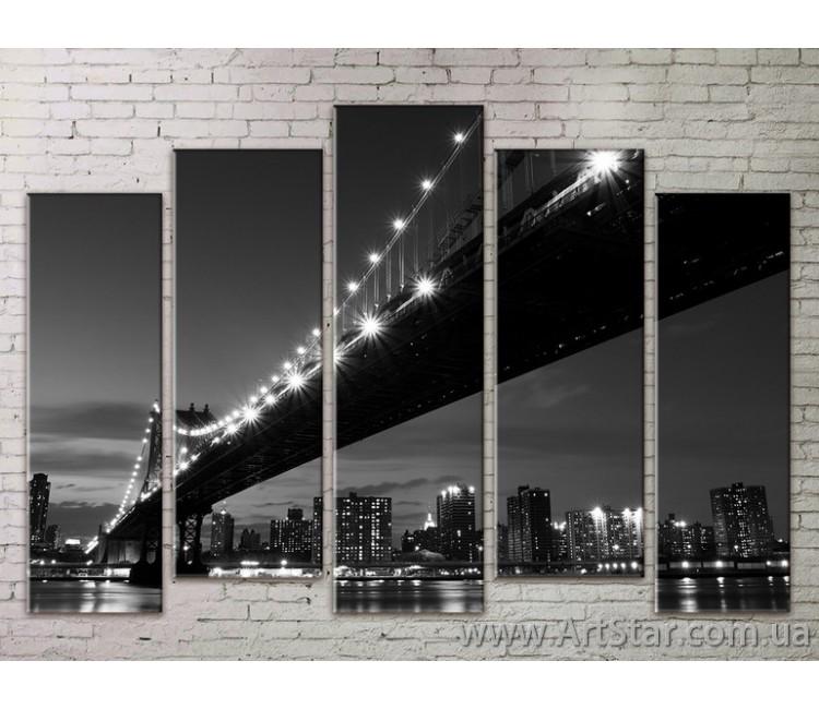Картина Модульная Город, Art. STRM778053