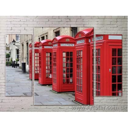Модульные Картины Города, Art. STRM778055