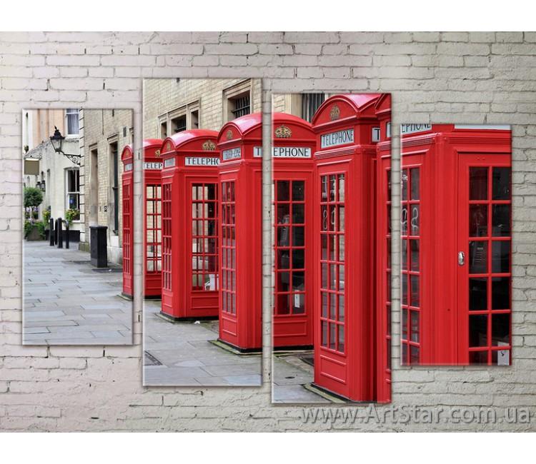Картина Модульная Город, Art. STRM778057