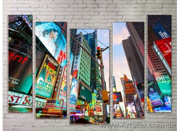 Картина Модульная Город, Art. STRM778073